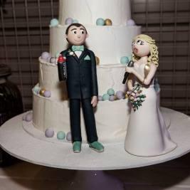 Personalised Cake by Julie Gunthorpe
