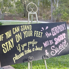 Sign by Creative Friends