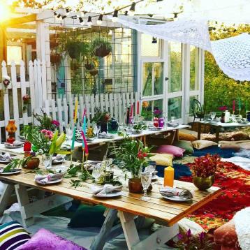 Boho Dinner Party Brisbane