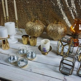 Gold Lanterns / Candles