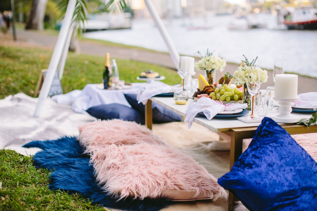 luxury picnic