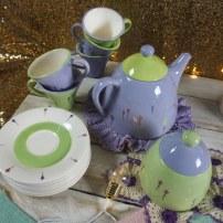 Pastel Tea Set