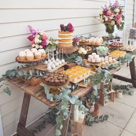 Styled Sweets Station via Pinterest