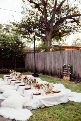 Backyard Wedding Inspo