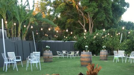 festoon backyard