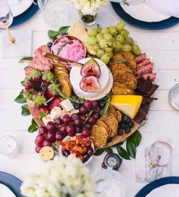 luxury platter