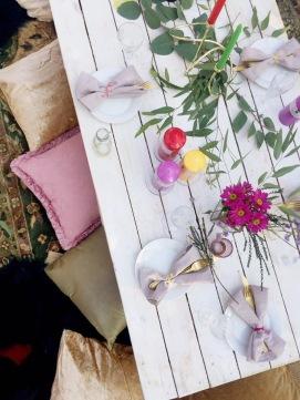 Boho Picnic florals