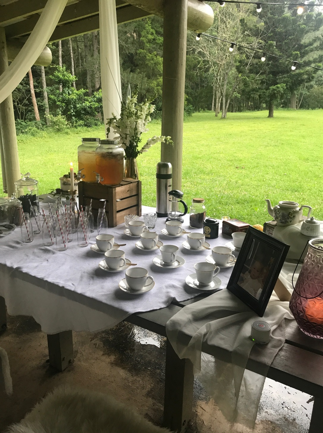 tea coffee station