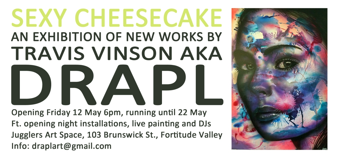 Sexy Cheesecake Flyer Back