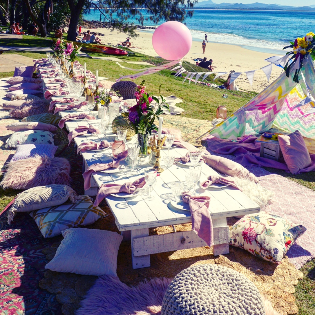 34 uncatered luxury picnic byron bay