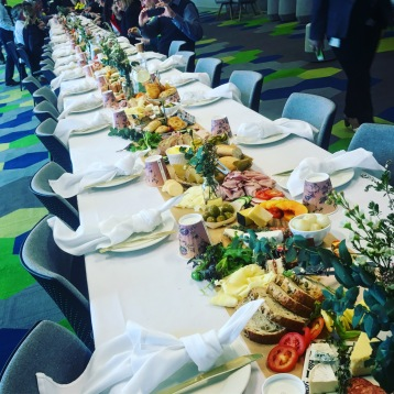 brisbane grazing table long table event