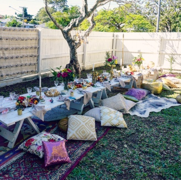Boho Pop Up Picnic Brisbane