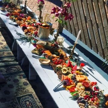Vegan Grazing Table Picnic