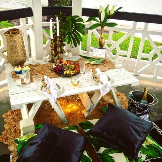 Tropical Theme Picnic Brisbane