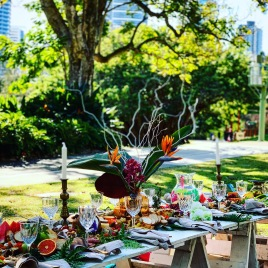 Tropical Luxe Picnic Brisbane