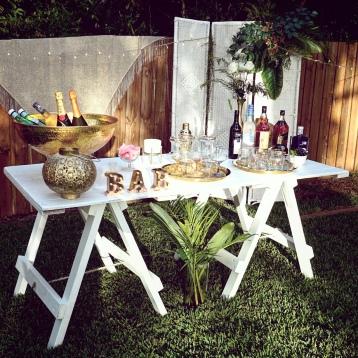 Pop Up Bar Brisbane Backyard