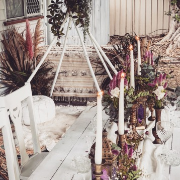 Boho Table Decor