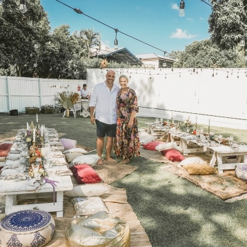 Backyard Birthday Boho Picnic and Bar Brisbane